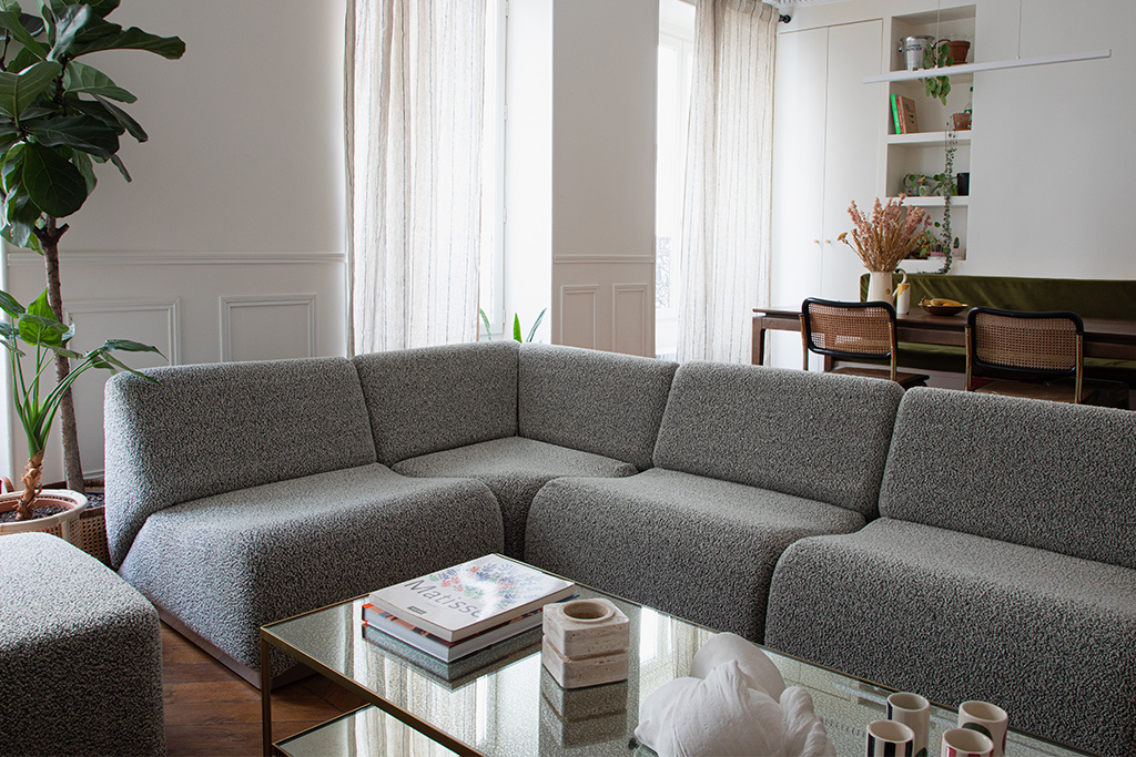 Rotondo, the modular sofa by The Socialite Family