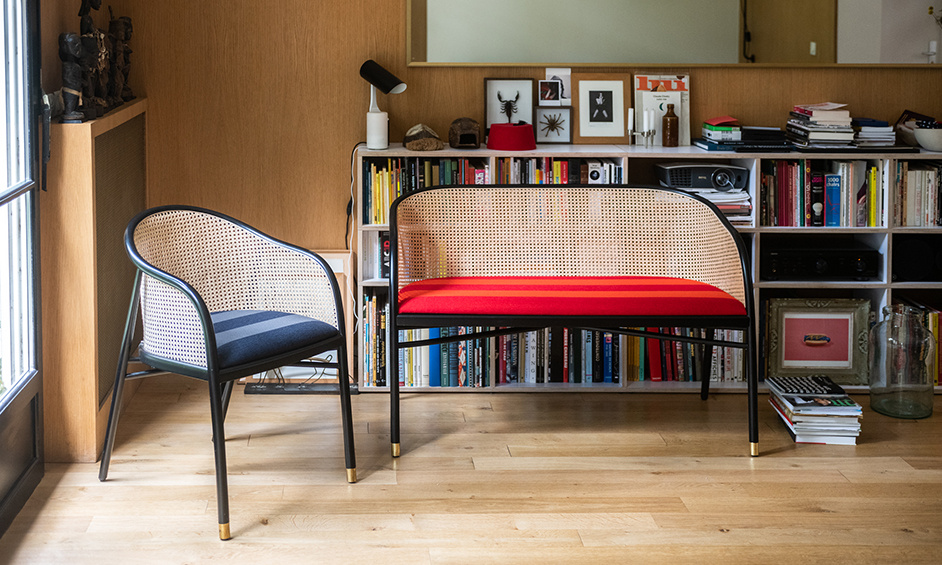 The Cavallo collection and its Kvadrat / Raf Simons seatings in limited edition